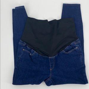 Loft Petite maternity 12 P jeans